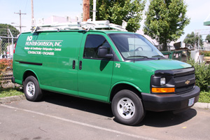 HVAC Service and Maintenance Van